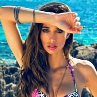 Patrizia Ruiz in a bikini
