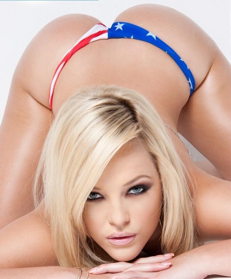 Alexis Texas in a bikini - ass