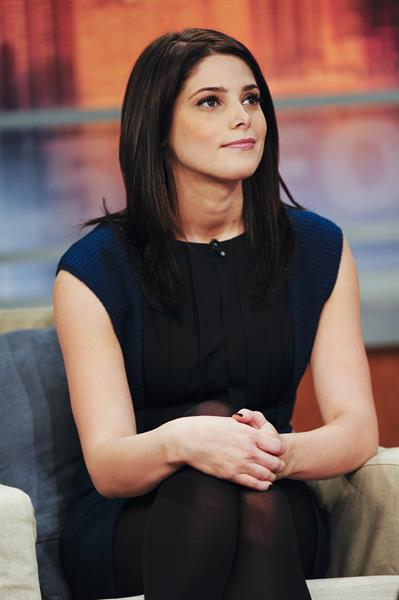 Ashley Greene on Foxx's Good Day New York taping at the Fox Studios in New York City
