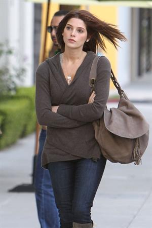 Ashley Greene leaving her agents office in Beverly Hills 9-11-2010