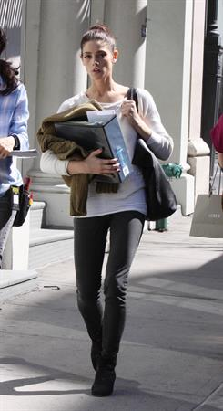 Ashley Greene in New York City on March 14, 2012