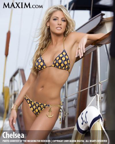 Chelsea Causey in a bikini