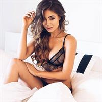 Pia Muehlenbeck in lingerie