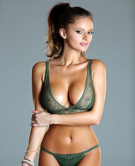 Dana Harem in lingerie - breasts
