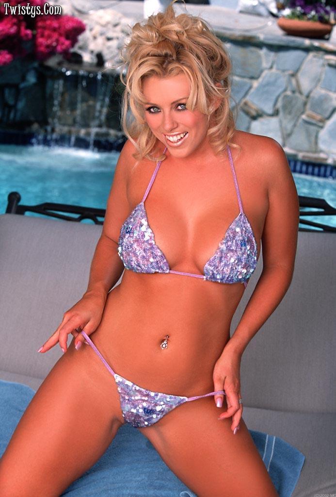 Brittney Skye in a bikini
