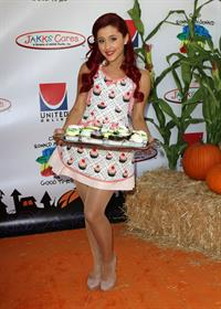 Ariana Grande Universal Hallowen Carnival on October 24, 2011