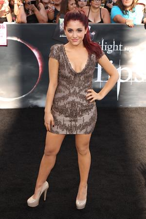 Ariana Grande Twilight Saga Eclipse Premiere June 24, 2010