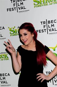 Ariana Grande Shrek Forever After premiere in New York