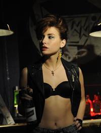 Allison Scagliotti in lingerie