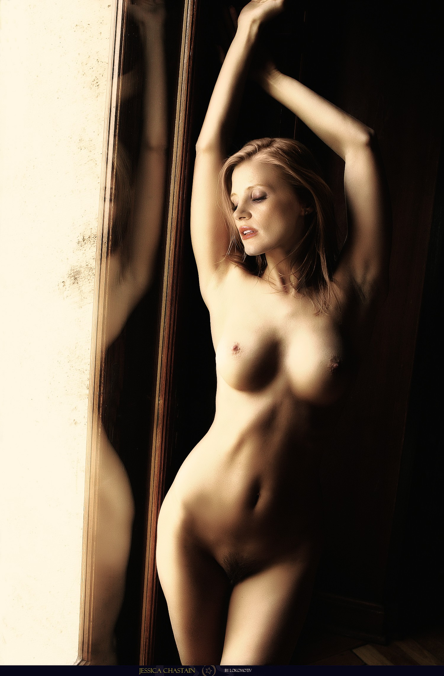 Jessica nude as chastain