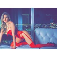 Allie Mason in lingerie