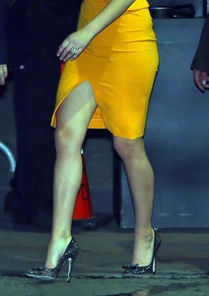 Jennifer Lawrence Leaving the Jimmy Kimmel Live (January 31, 2013)