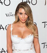 Kim Kardashian Celebrates Her Birthday At Tao Las Vegas on Oct. 25, 2013