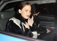 Jennifer Lawrence at Chateau Marmont Hotel 1/5/13