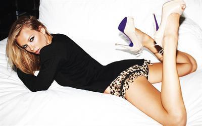 Alexandra Spencer in lingerie
