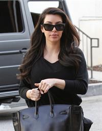 Kim Kardashian - Heads to the gym in LA (29.01.2013)