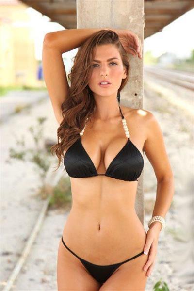 Jillian Beyor in lingerie