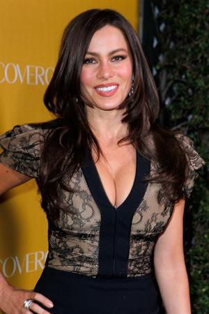 Sofia Vergara at Covergirl Cosmetics 50th Anniversary party at Boa Steakhouse on January 5, 2011