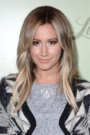Ashley Tisdale – Lucky Brand Store Opening, LA 10/29/13