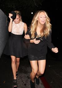 Ashley Tisdale in Hollywood 1/23/13