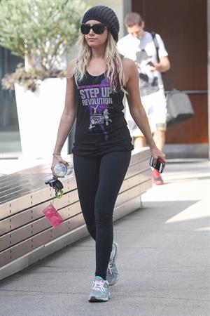 Ashley Tisdale in West Hollywood 07/05/2012
