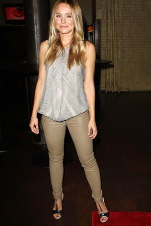 Kristen Bell - Hit and Run Screening in New York City (July 25, 2012)
