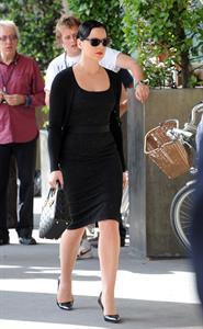 Abbie Cornish on set 1/8/2010