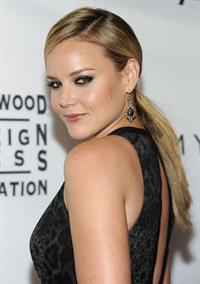Abbie Cornish Instyle and the Hollywood Foreign Press Associations tiff party on September 13, 2011