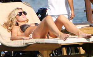 Abigail Clancy holiday at the Portocervo Hotel Cala di Volpe Sardinia Italy on July 12, 2010
