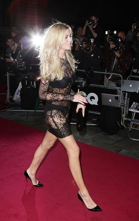 Abigail Clancy GQ Men of the Year awards in London 06.09.11
