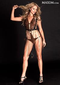 Ellen Hollman in a bikini