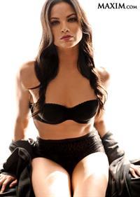 Katrina Law in lingerie
