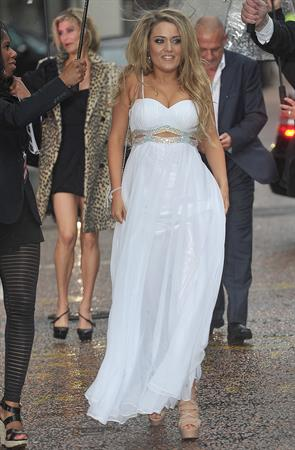 Abi Phillips at the British Soap Awards After Party on March 28, 2012