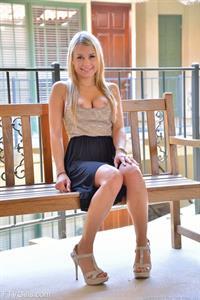 Kendall Kayden Naked on the balcony
