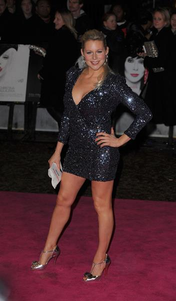 Abi Titmuss Burlesque premiere London December 13, 2010