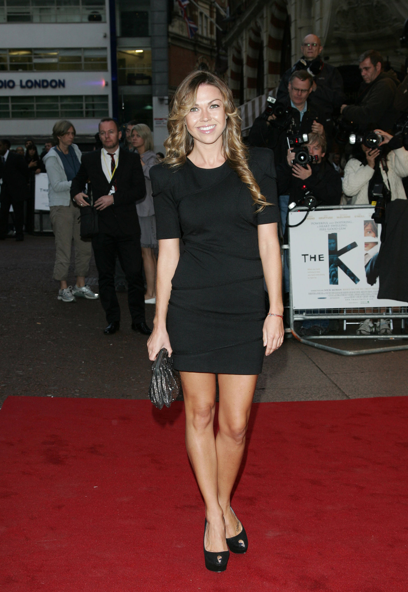 Adele Silva at The Kid premiere in London on September 15, 2010