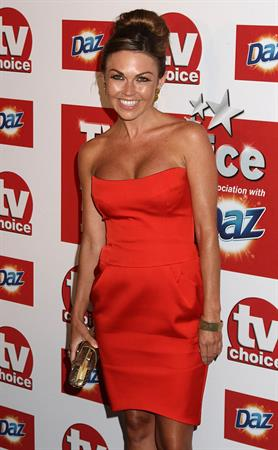 Adele Silva TV Choice Awards 2011 on September 13, 2011