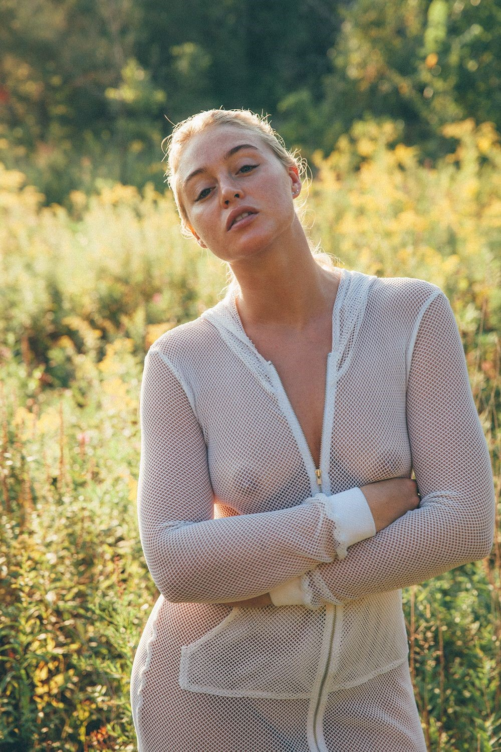 Iskra Lawrence - breasts