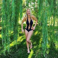 Lele Pons in a bikini