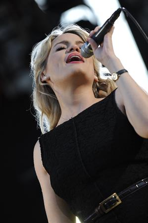 Aimee Anne Duffy performs live at the Genoa MTV Day 2008 on September 13, 2008