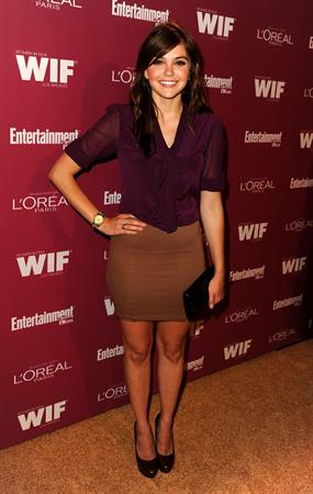 Aimee Teegarden Entertainment Weekly and Women in Film pre-Emmy party September 16, 2011