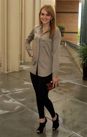 Aimee Teegarden at the Costume Council of the Los Angeles County Museum of Art Honors Judith Leiber on May 18, 2011