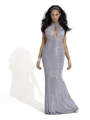 Alesha Dixon - dress photoshoot