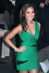Adrienne Bailon at the Victoria's Secret Fashion Show at The Armory on November 19, 2009 in New York City