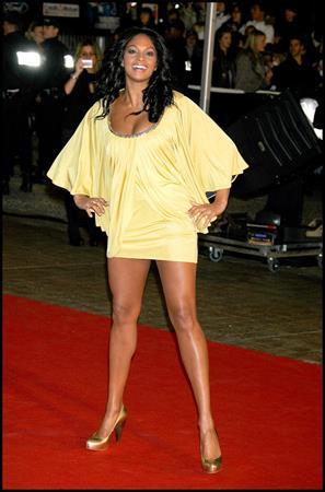 Alesha Dixon - NRJ Music awards - 2009 Arrivals Cannes - France