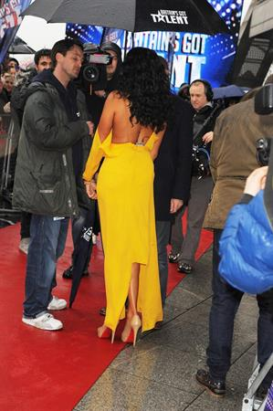 Alesha Dixon - Britains Got Talent Auditions Manchester - 20th Jan 2012