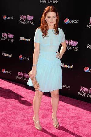 Alexandra Breckenridge Katy Perry Part of Me premiere in Los Angeles on June 26, 2012