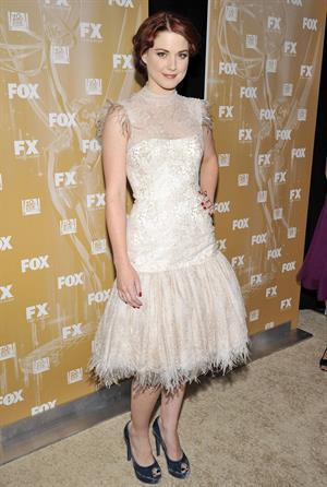 Alexandra Breckenridge attending the Fox Broadcasting, Twentieth Century Fox And FX 2011 Emmy Nomination Celebration, Sep 18, 2011