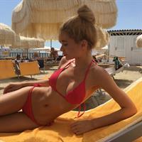 Ekaterina Zueva in a bikini