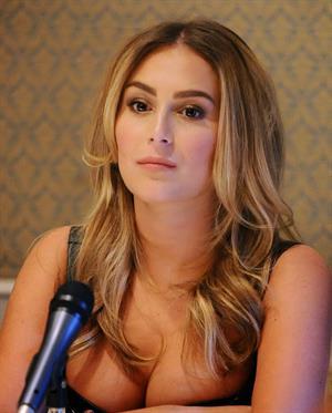 """Alexa Vega – """"Machete Kills"""" Press Conference 10/6/13"""